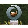 BronzArtes Bronzen Beeld: Vogel in cirkel sokkel wordt niet mee geleverd