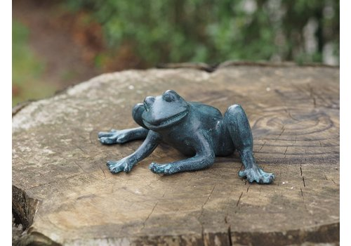 BronzArtes Bronze statue: Frog