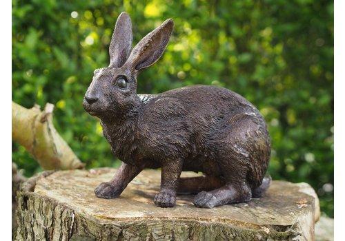 BronzArtes Bronze statue: Rabbit