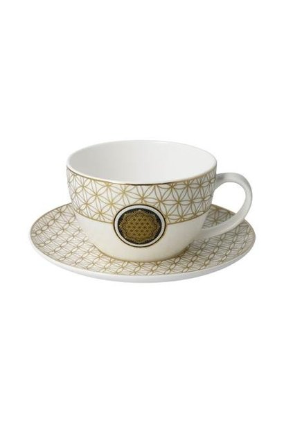 Flower of Life - Tea-/Cappuccino Cup