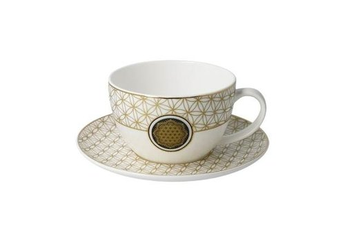 Lotus Flower of Life - Tea-/Cappuccino Cup