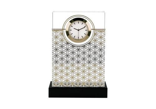 Lotus Flower of Life White - Deskclock