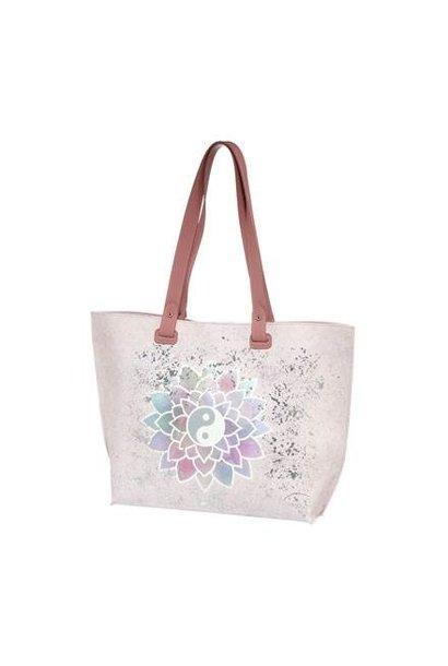 Lotusblute Ros - Handtasche