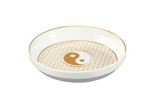 Lotus Yin Yang White - Bowl