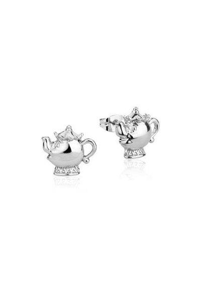 Mrs. Potts - Stud Earrings White Gold