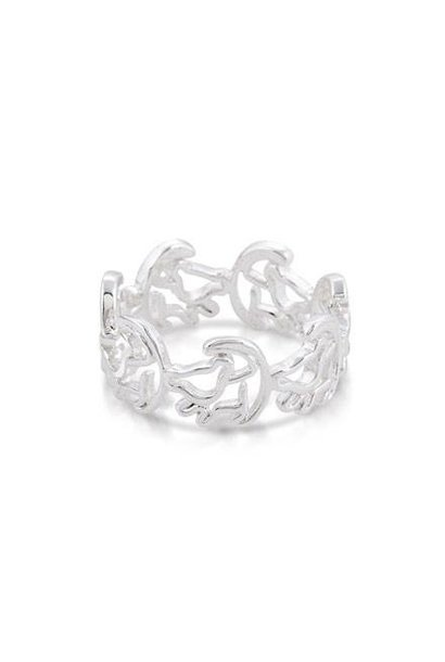Simba - Ring Weiss¸gold Grosse¸e 7