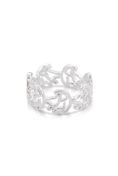 Simba - Ring Weiss¸gold Grosse¸e 8