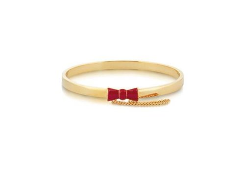 Minnie Maus Red Bow - Bangle Gold