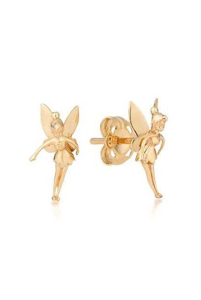 Tinker Bell - Earrings 9K Gold