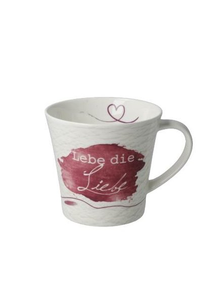 Lebe die Liebe - Coffee-/Tea Mug