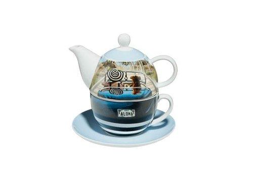 Trish Biddle Aloha - Tea for One