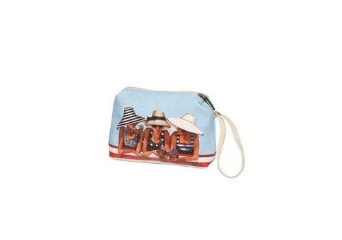 Trish Biddle Strandmeisjes - cosmetische tas