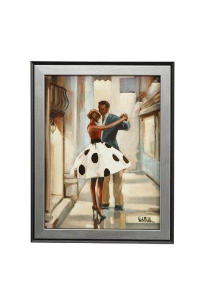 Dansers - Muurschildering