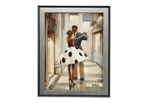 Trish Biddle Dansers - Muurschildering