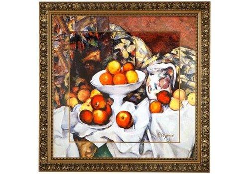 Paul Cezanne Stilleven I - Muurschildering