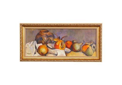 Paul Cezanne Stilleven met peren - Muurschildering