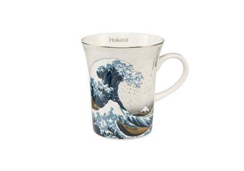 Katsushika Hokusai Die Welle - Silber - Künstlerbecher