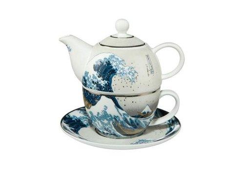 Katsushika Hokusai The Great Wave - Tea For One