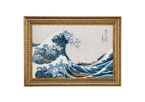 Katsushika Hokusai Die Welle - Wandbild