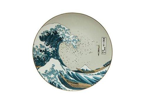 Katsushika Hokusai Die Welle - Wandteller