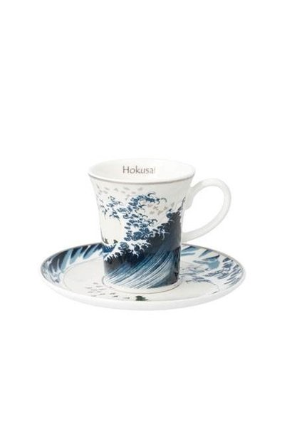 Great Wave II - Demitasse