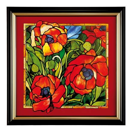 A Quality Goebel Product:  AO P PI Oriental Poppy-1