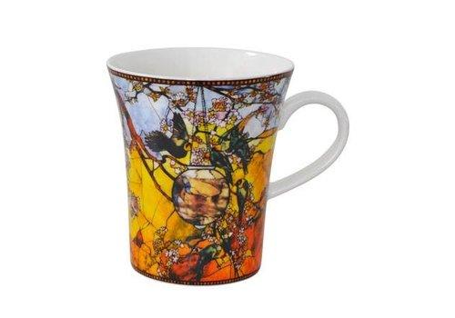 Louis Comfort Tiffany Parakeets - Artist Mug