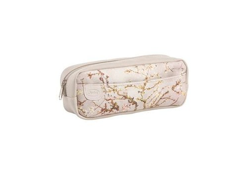 Vincent van Gogh Almond Tree Silver - Makeup Bag