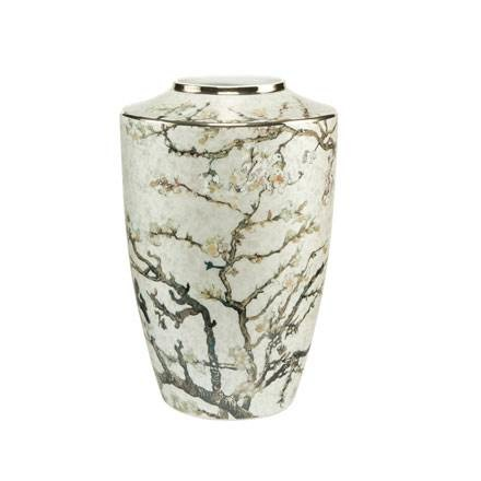A Quality Goebel Product:  Almond Tree Silver - Vase-1