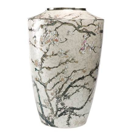 Goebel Quality:  Almond Tree Silver  Vase-1
