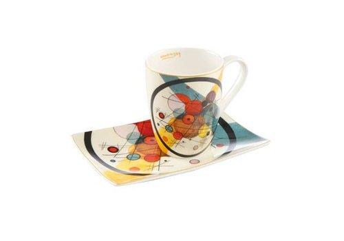Wassily Kandinsky Circles in a Circle - Artist Mug