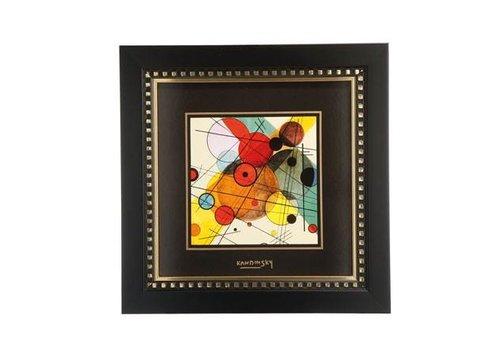 Wassily Kandinsky Kreise im Kreis - Wandbild