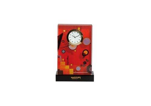 Wassily Kandinsky Heavy Red - Deskclock