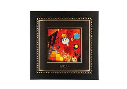 Wassily Kandinsky Schweres Rot - Wandbild
