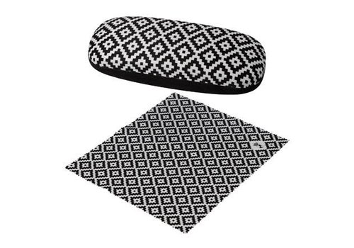 Black and White Diamonds - Spectacle Case