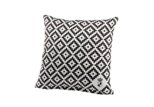 Black and White Diamonds - Cushion Cover