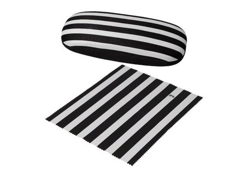 Black and White Stripes - Spectacle Case