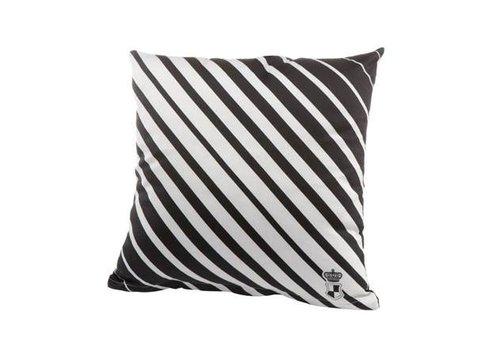 Black and White Stripes - Kissenbezug