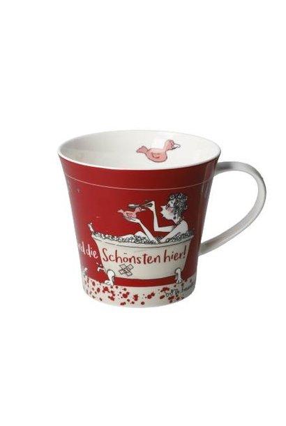 Wir sind die Schönsten - Coffee-/Tea Mug