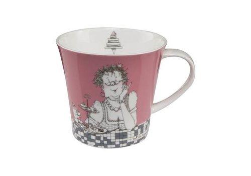 Barbara Freundlieb Zwei Diäten - Coffee-/Tea Mug