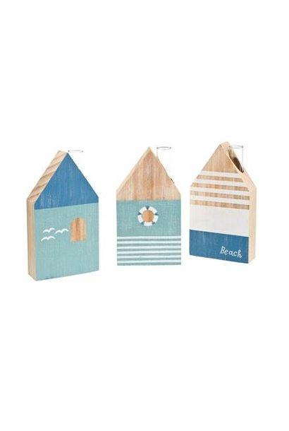 Blue Houses - Vases