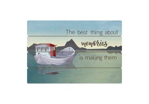 Scandic Home Fishing Boat - Panel