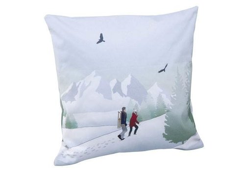 Scandic Home Walk in the Snow - Cushion Cover