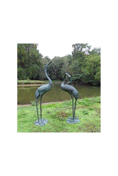 Crane fountain 1.83 m
