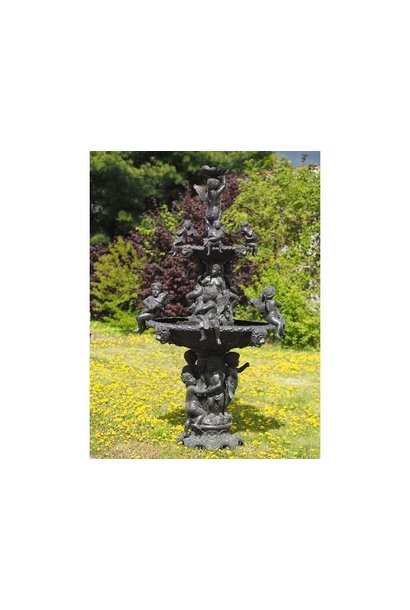 Grote fontein met engeltjes 275 cm