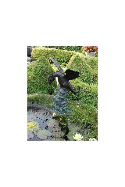 Springbrunnen-Drache