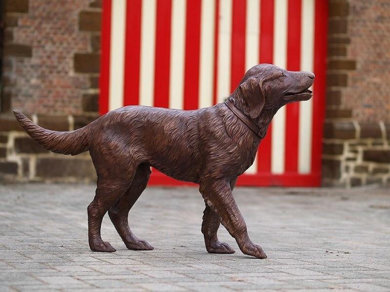 Bronze Statue: Labrador-1
