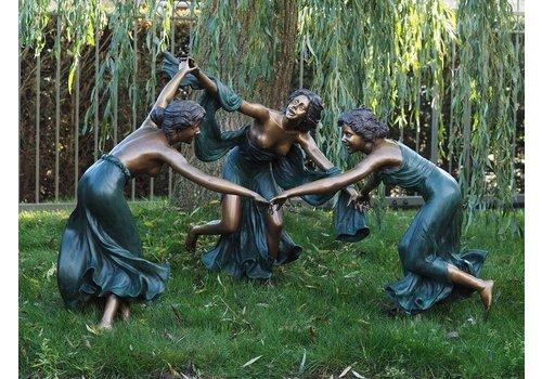 BronzArtes Drie Dansende Vrouwen