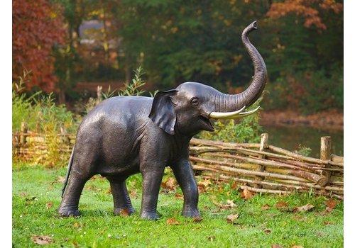 BronzArtes Pair of Elephants