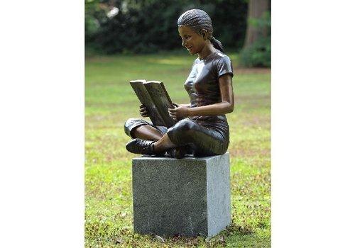 BronzArtes Mädchen mit Buch